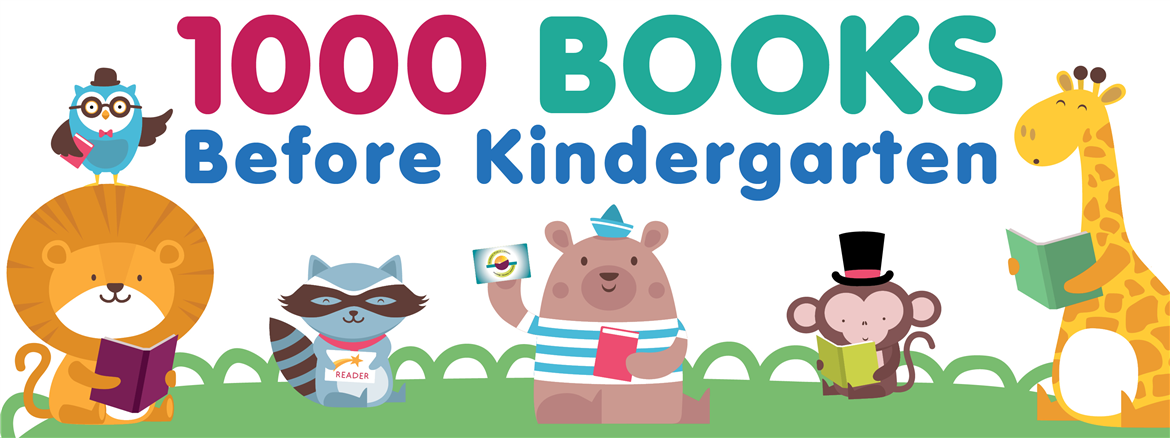 1000 Books Before Kindergarten | Burbank Public Library